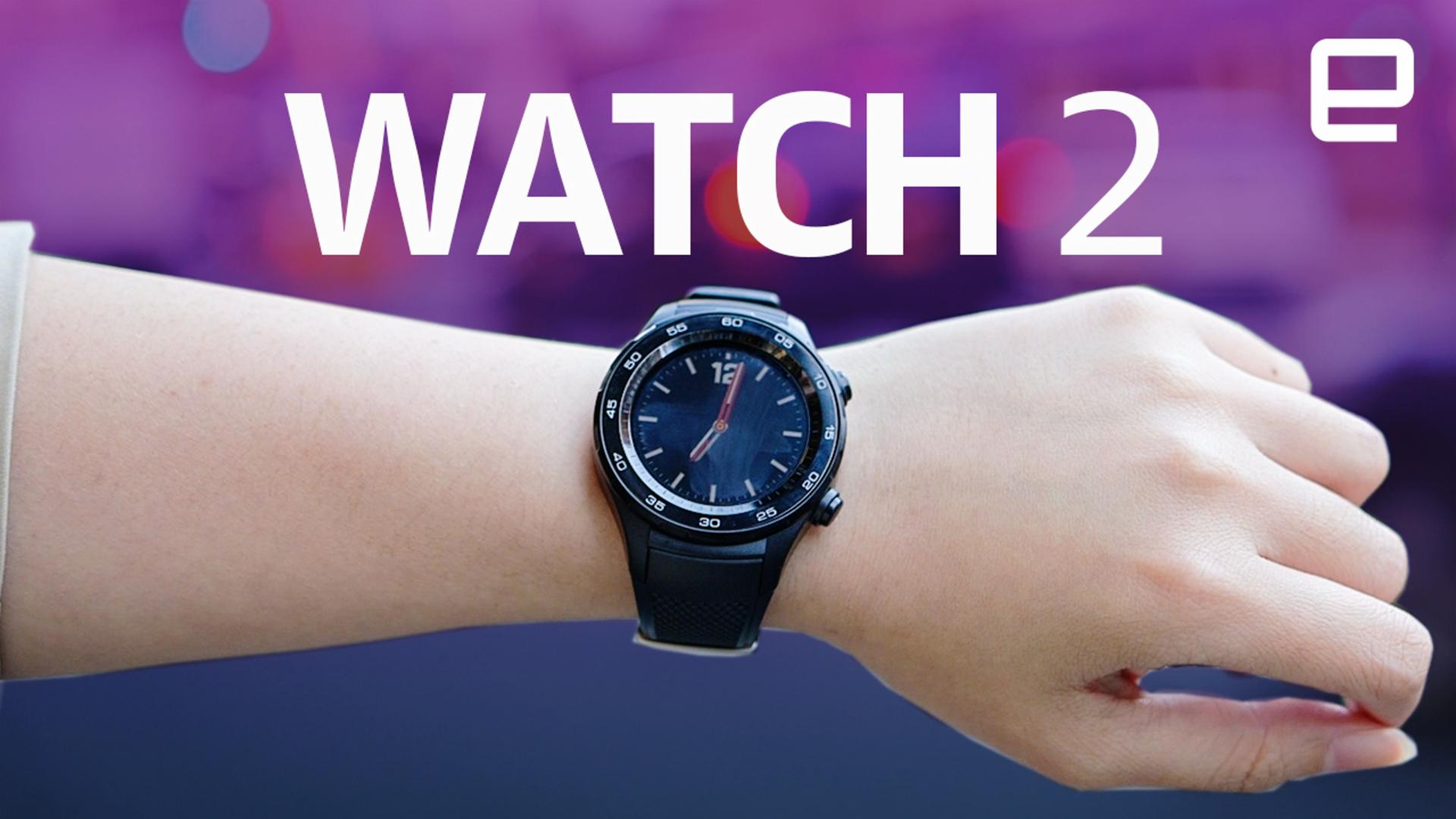 Huawei's Watch 2 can last for weeks without its smarts | Engadget
